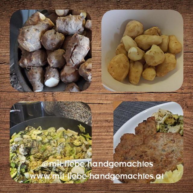 Topinambur Gemüse Rezept - Kreativwerkstatt