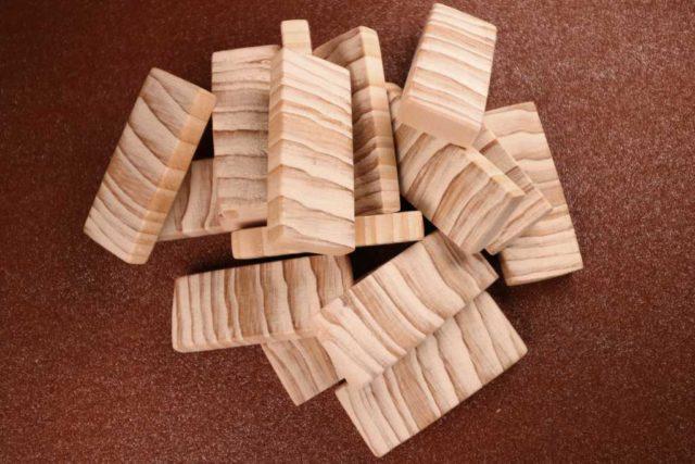 Holzanhänger personalisiert
